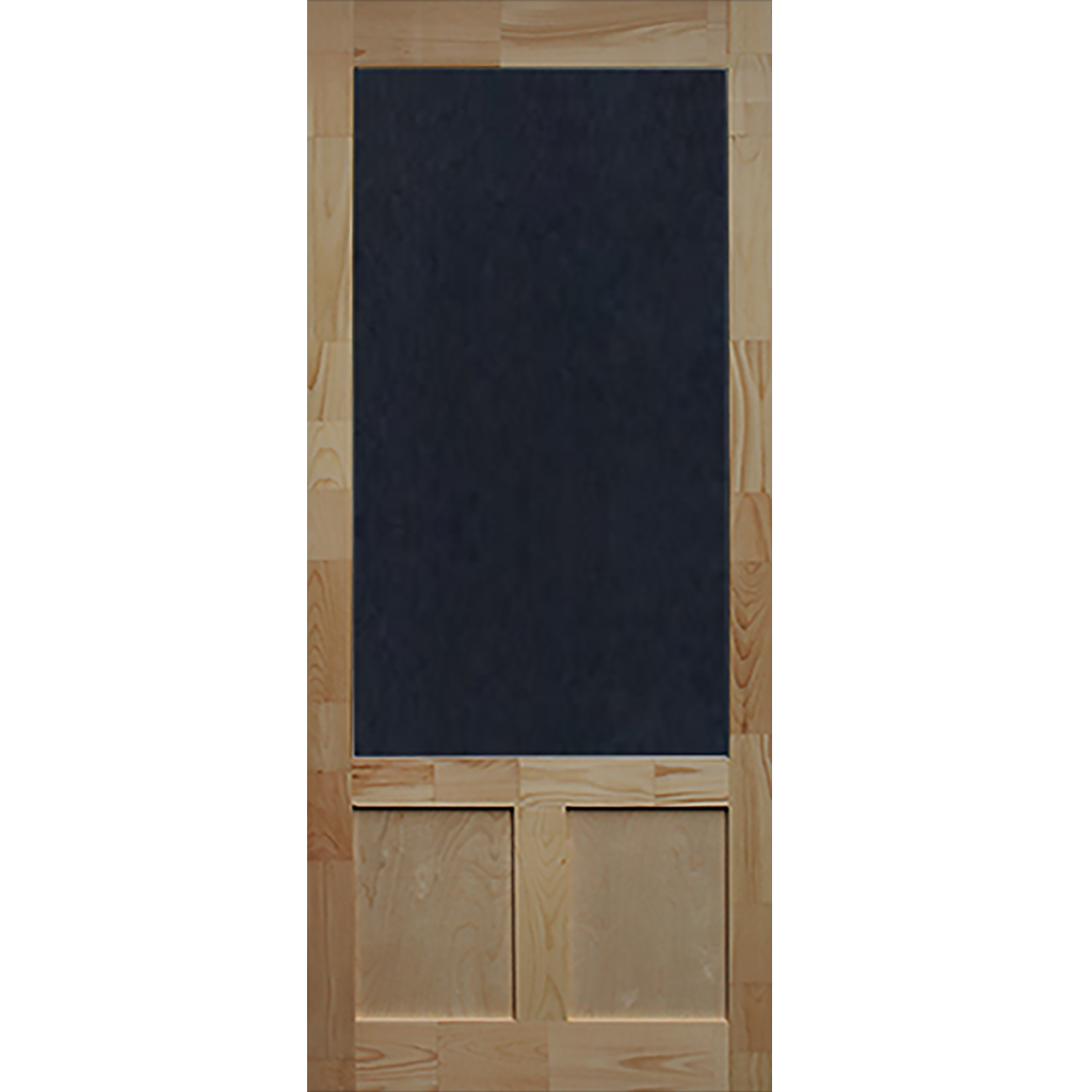 Screen Door Wood Elmwood 1 3 8 In Thick Wood Exterior Door Aluminum Screen Doors Interior Barn Doors