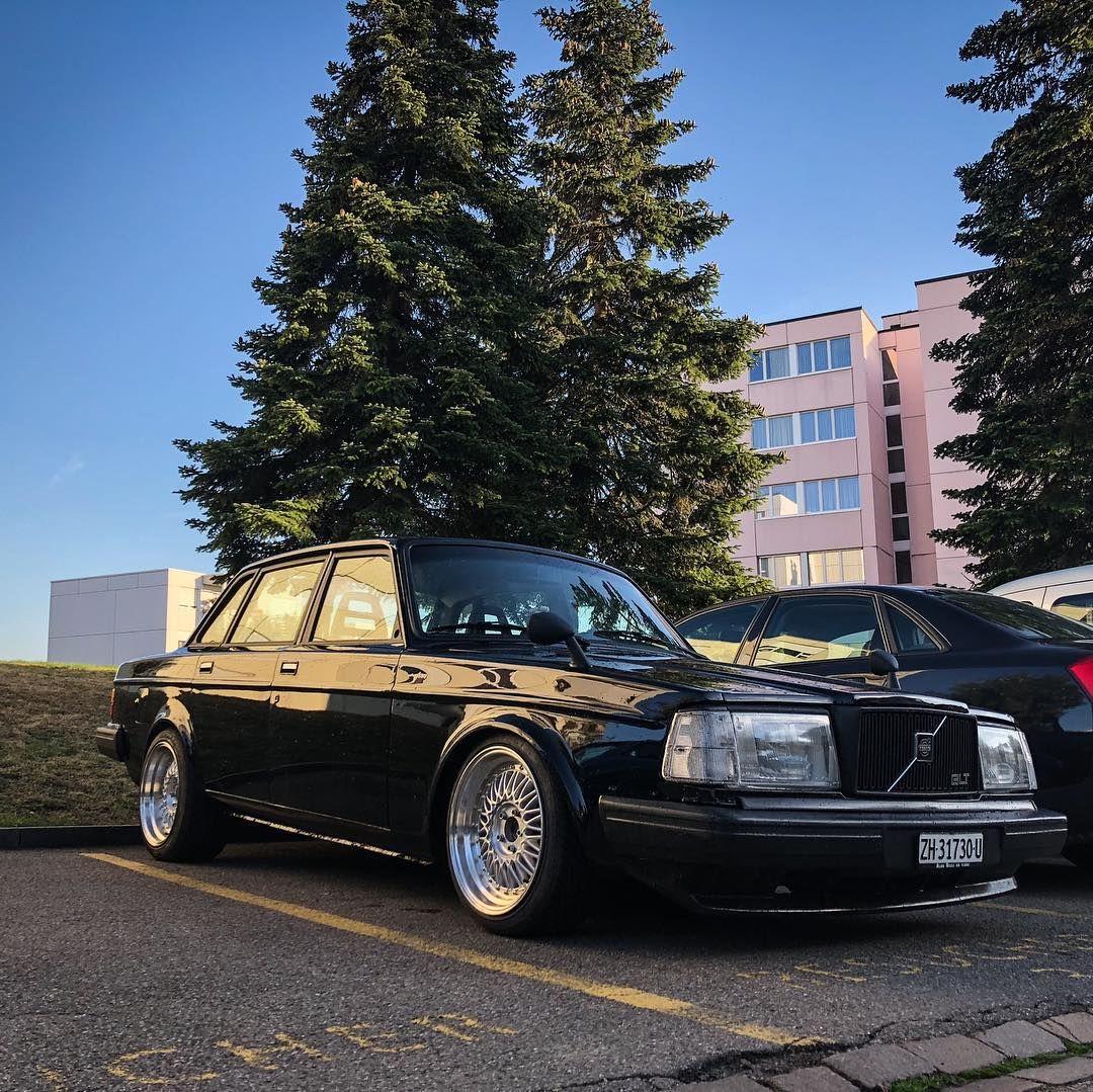 Black Beauty Volvo 240 Glt Modified By Volvo Customz