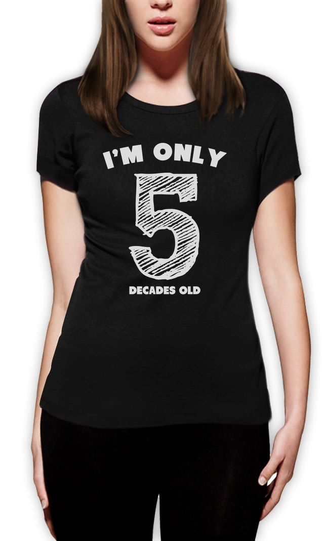de09f9f88 ... Idea Mom'S Birthday Crewneck Tee. Image result for funny 50th bday gifts