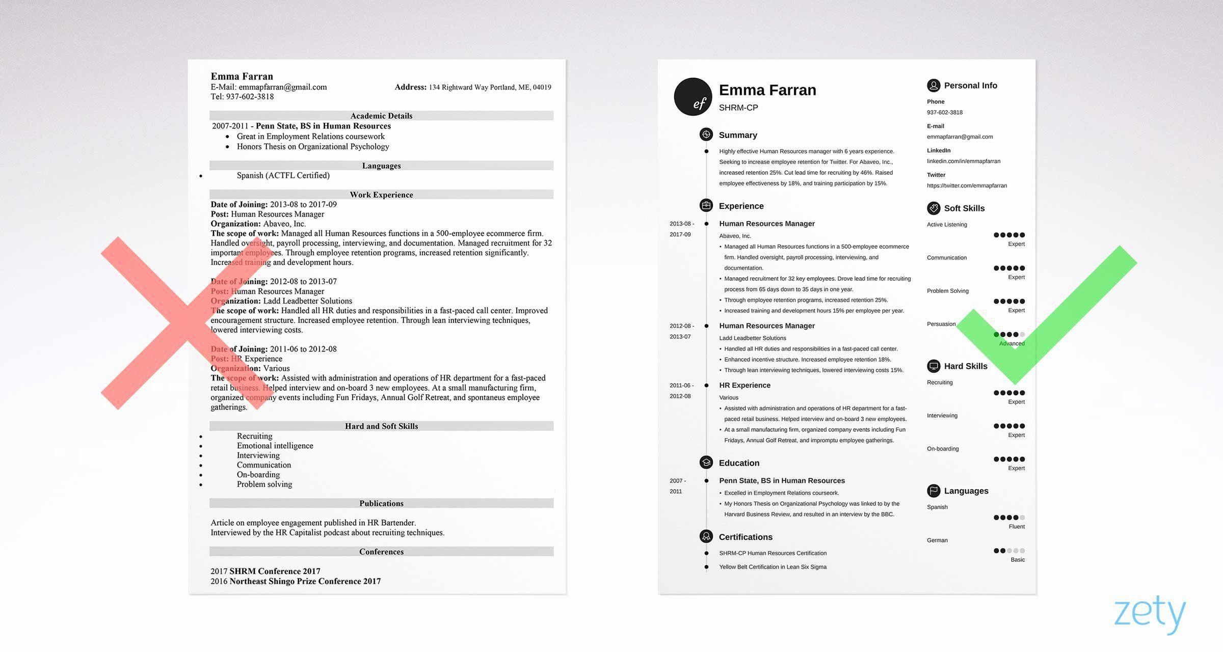 Basic resume template examples lovely basic resume