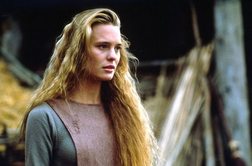 Emma's dress reminds me a wee bit of this one from The Princess Bride when Buttercup is on the farm.