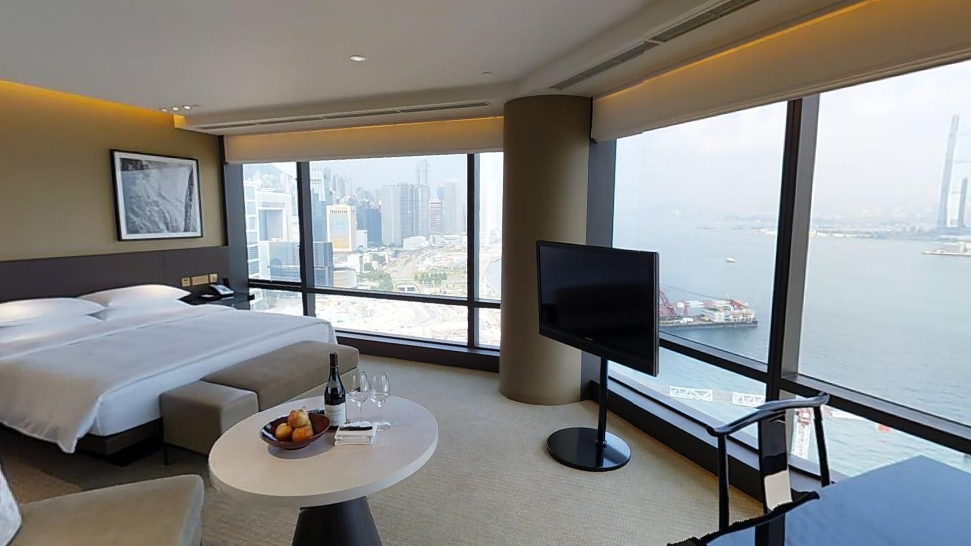 Grand Hyatt Hong Kong Executive Room Matterport 3D