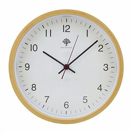Robot Check Wooden Clock Wood Wall Clock Wall Clock