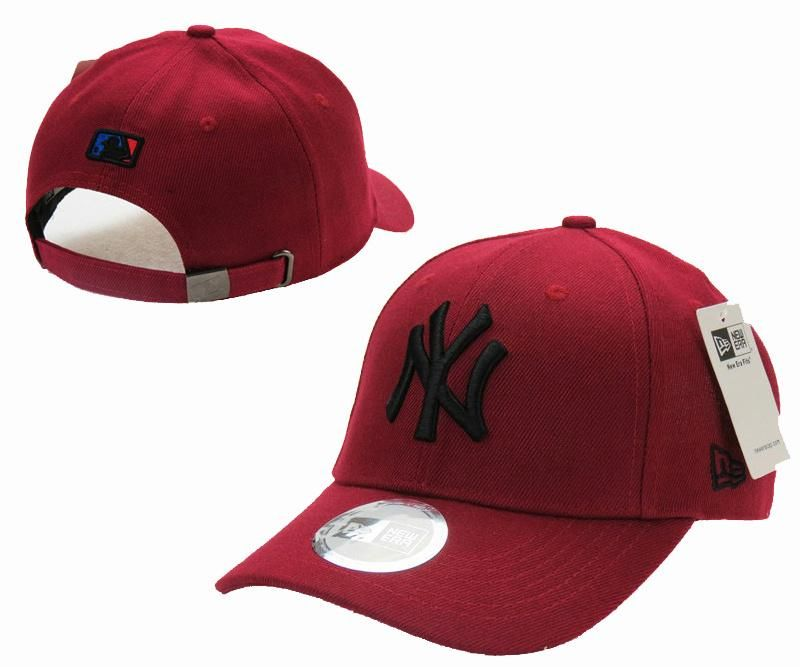 84a3c4357 Mens / Womens New York Yankees New Era Solid 6 Panel Strap Back ...