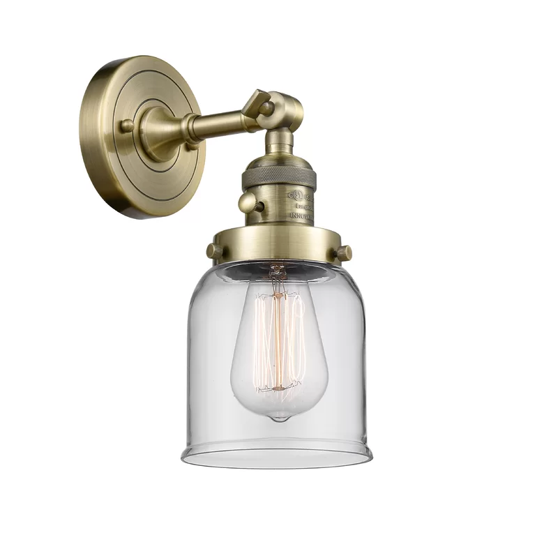 Photo of Gaskill 1-Light Armed Sconce