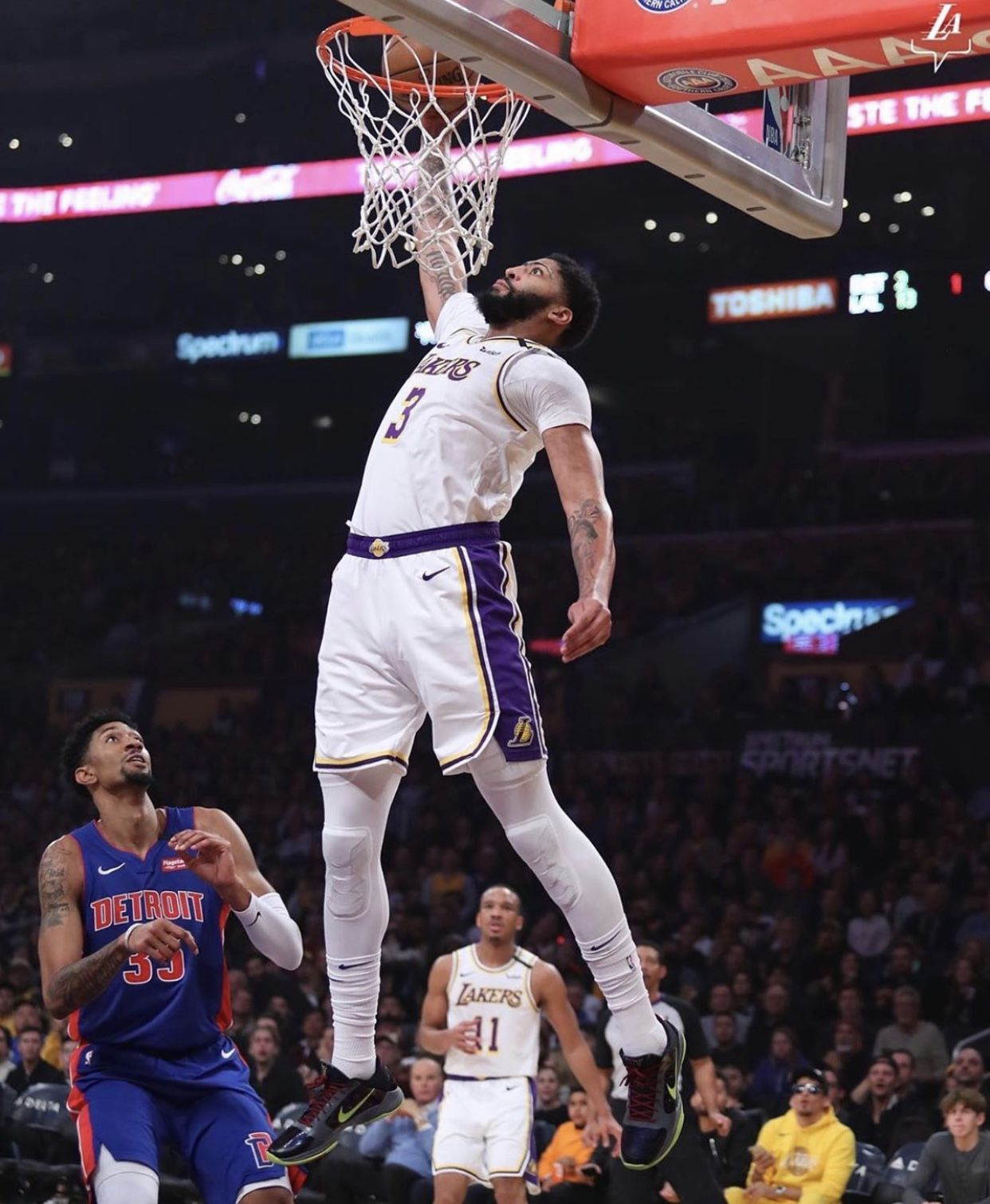 Anthony Davis in 2020 Los angeles lakers, Lakers