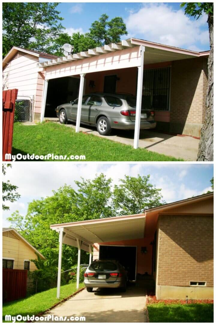 5+ BudgetFriendly DIY Carport Ideas & Plans budget