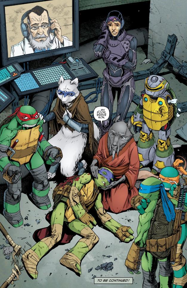 Has One Of The Teenage Mutant Ninja Turtles Has Been Killed Off Ninja Turtles Tmnt Comics Teenage Mutant Ninja Turtles Art