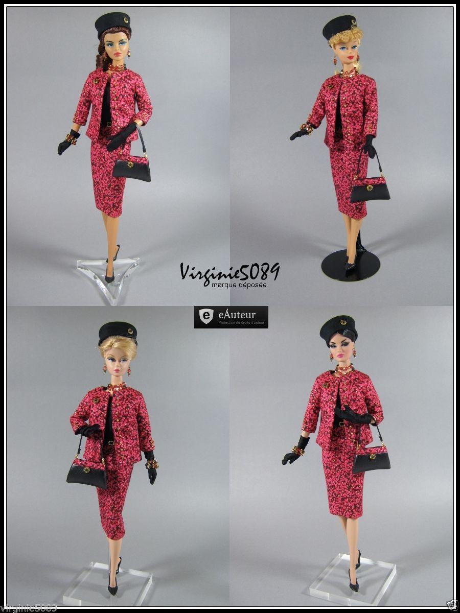 Tenue Outfit Accessoires Pour Barbie Silkstone Vintage Fashion Royalty 1134   eBay