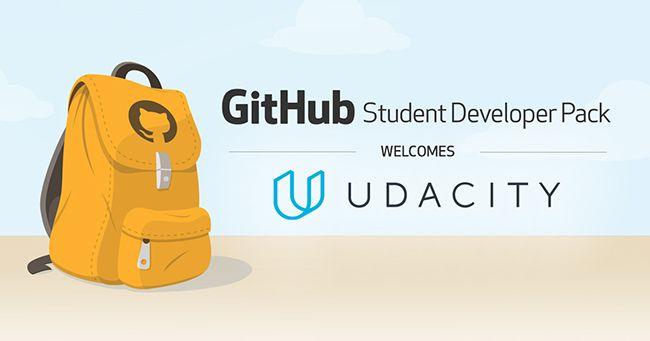 The GitHub Student Developer Pack welcomes Udacity! | Programming