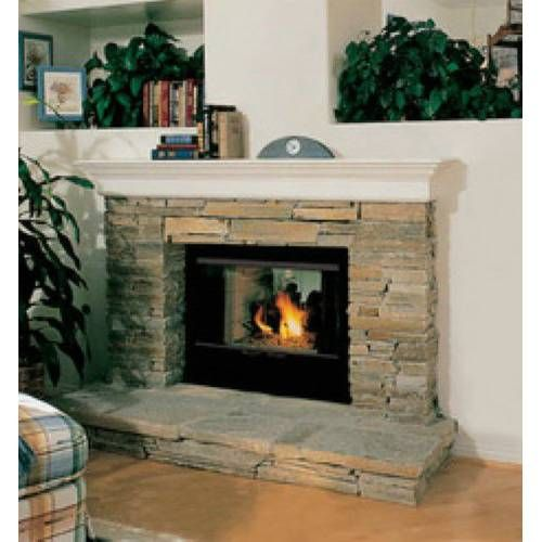 Fmi Fireplaces 3612st Savannah 36 See Through Smooth Faced Wood Burning 962 10 Wood Fireplace Home Fireplace Wood Burning Fireplace Inserts