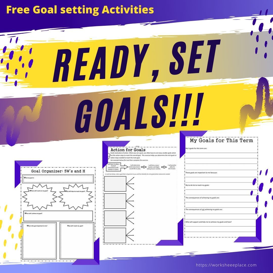 Free Activities To Help Your Students Set Goals In
