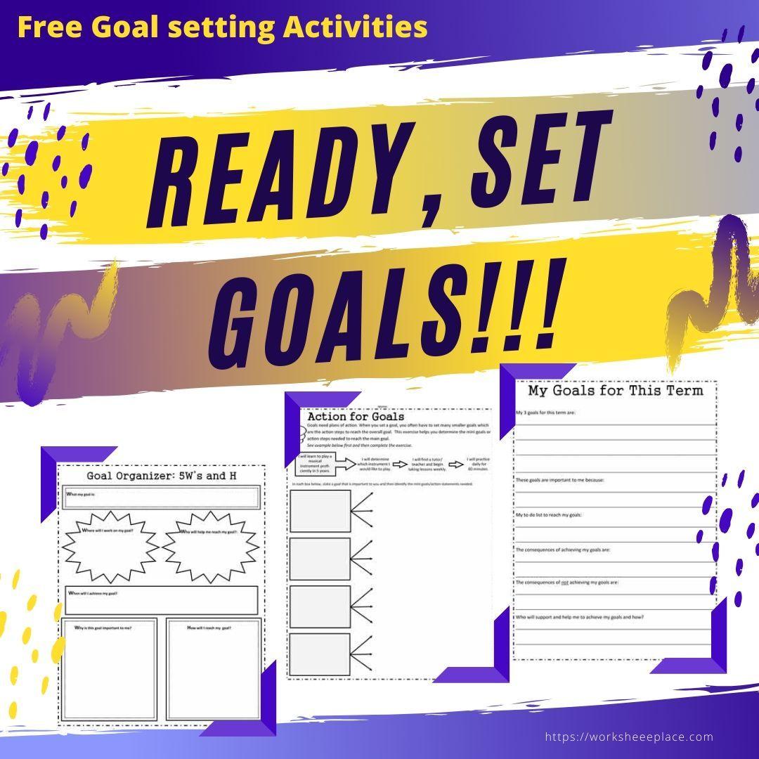 Free Activities To Help Your Students Set Goals In