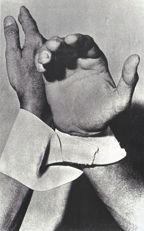 Lygia Clark Dialogo De Manos Dialogue Of Hands 1966