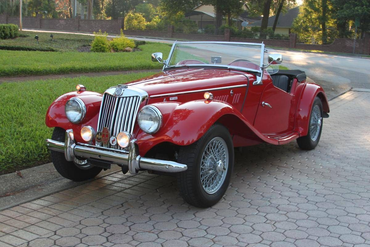 1955 Mg Tf 1500 For Sale Hemmings Motor News Retro Cars