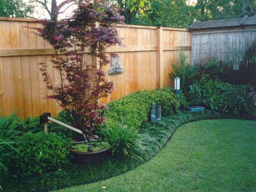20 Smart Backyard Fence And Garden Design Ideas For Your Garden