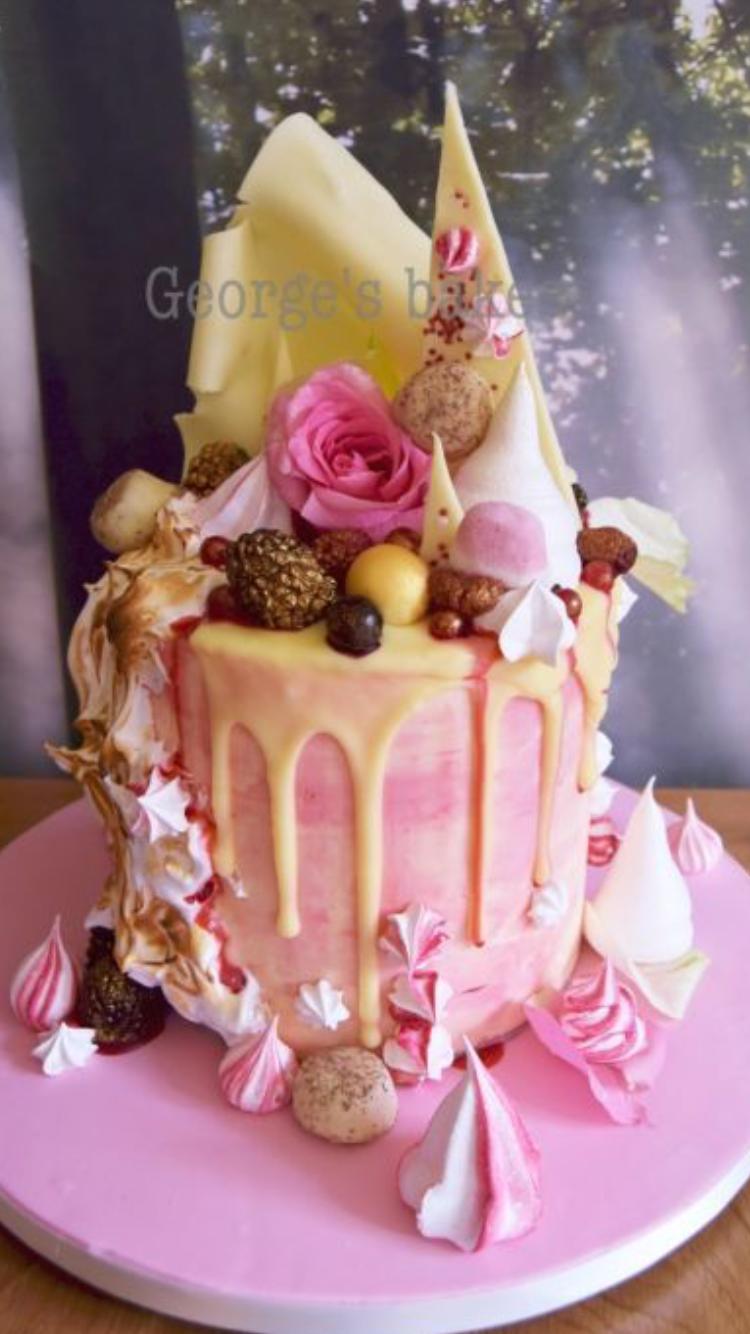 Pin by Milka Došen on Birthday Cakes Cake, Drip cakes
