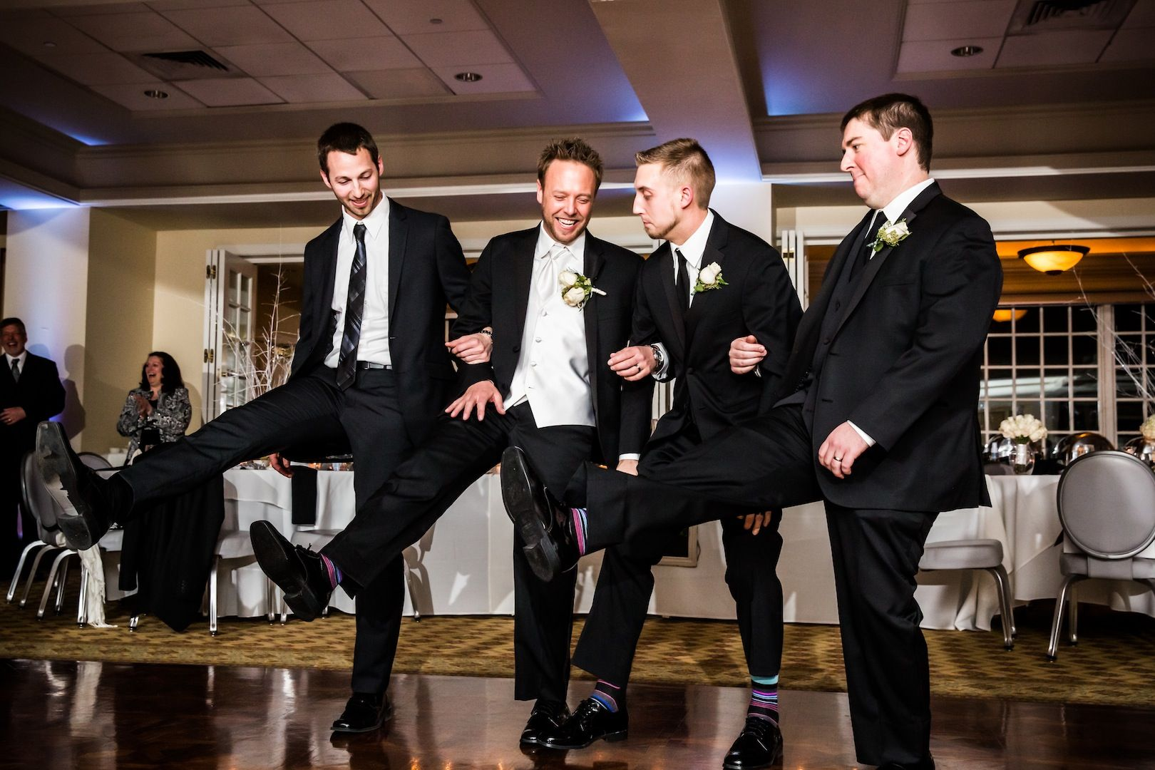 New yearus eve wedding at radnor valley country club in villanova