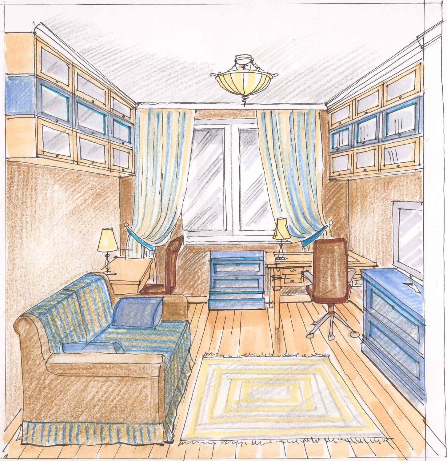 рисунок дизайна детской комнаты варианты дизайна в 2019 г Home