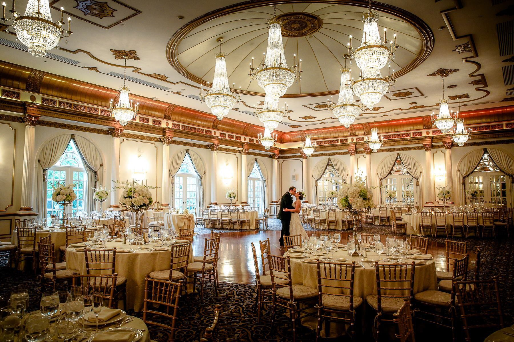 Reception Hall at The Crystal Plaza in Livingston NJ
