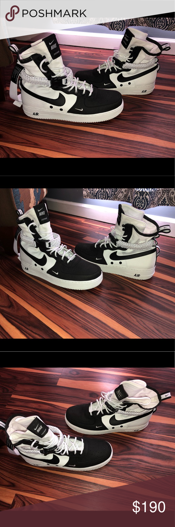 SF Air Force 1 High Panda—new in box These shoes are nice