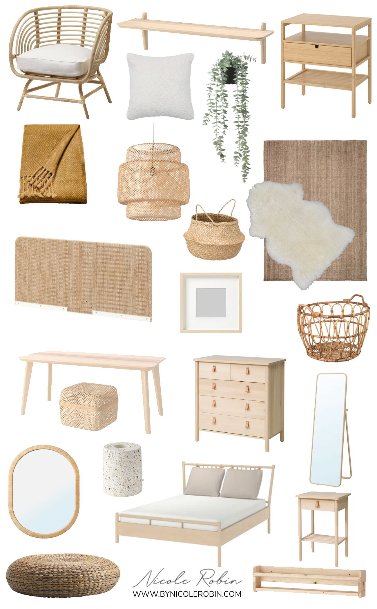 The Best of IKEA: Boho Home Finds
