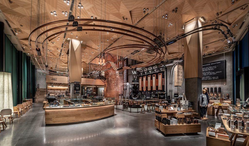 Starbucks Reserve® Roastery Tokyo opened door Retail