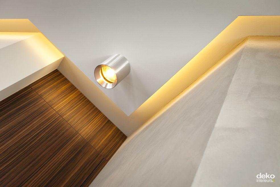 Woonkamer verlichting plafond : verlaagd plafond in woonkamer