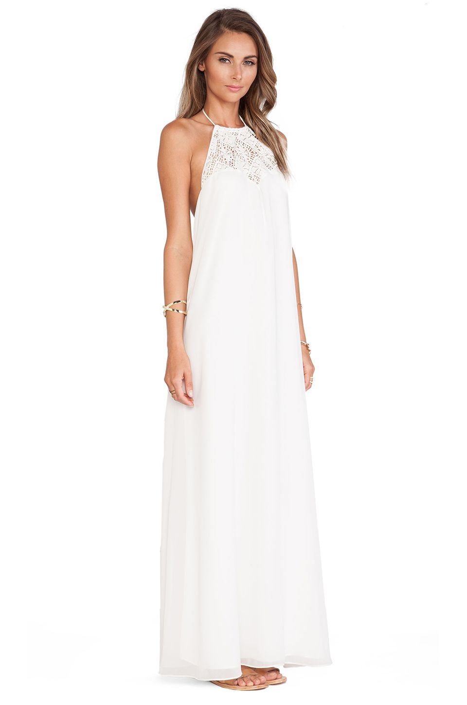Lovers + Friends Lovers + Friends Mahalo Maxi Dress in Ivory | REVOLVE