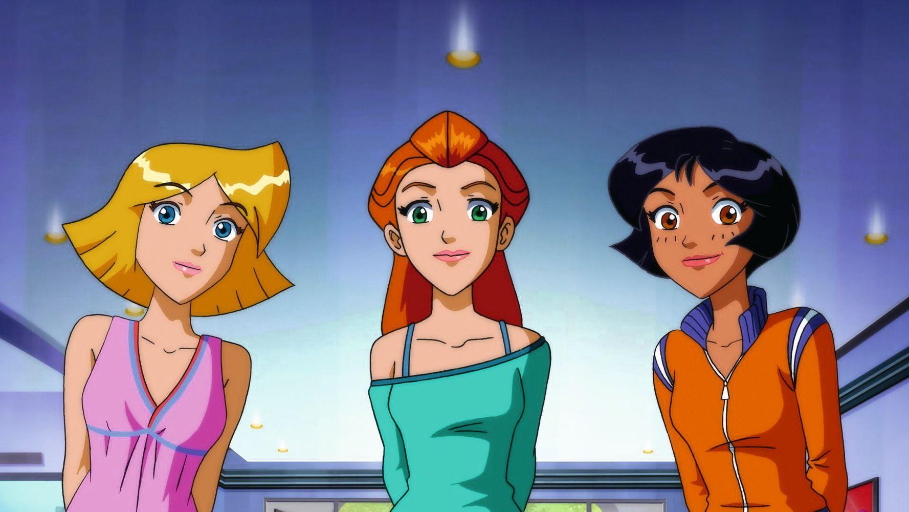 totally spies   Totally spies, Powerpuff girls, Girl cartoon
