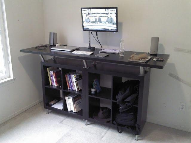 Large Standing Desk For 200 Ikea Standing Desk Diy Standing