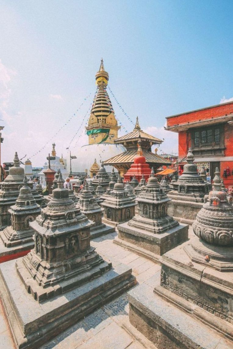 Exploring Swayambhunath Stupa The Monkey Temple In Kathmandu Nepal 6 Nepal Travel Cool Places To Visit Places To Visit