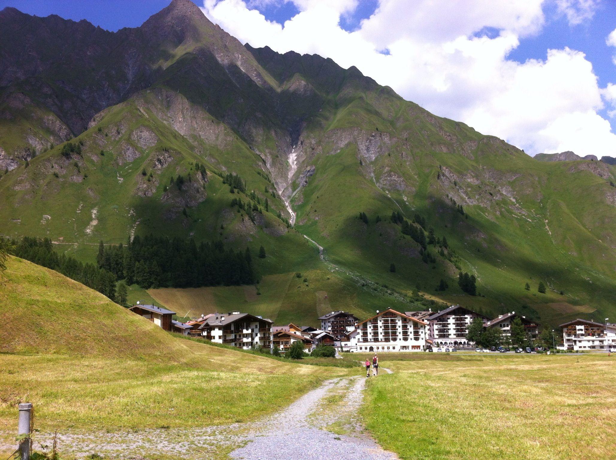 Samnaun - die Schweiz