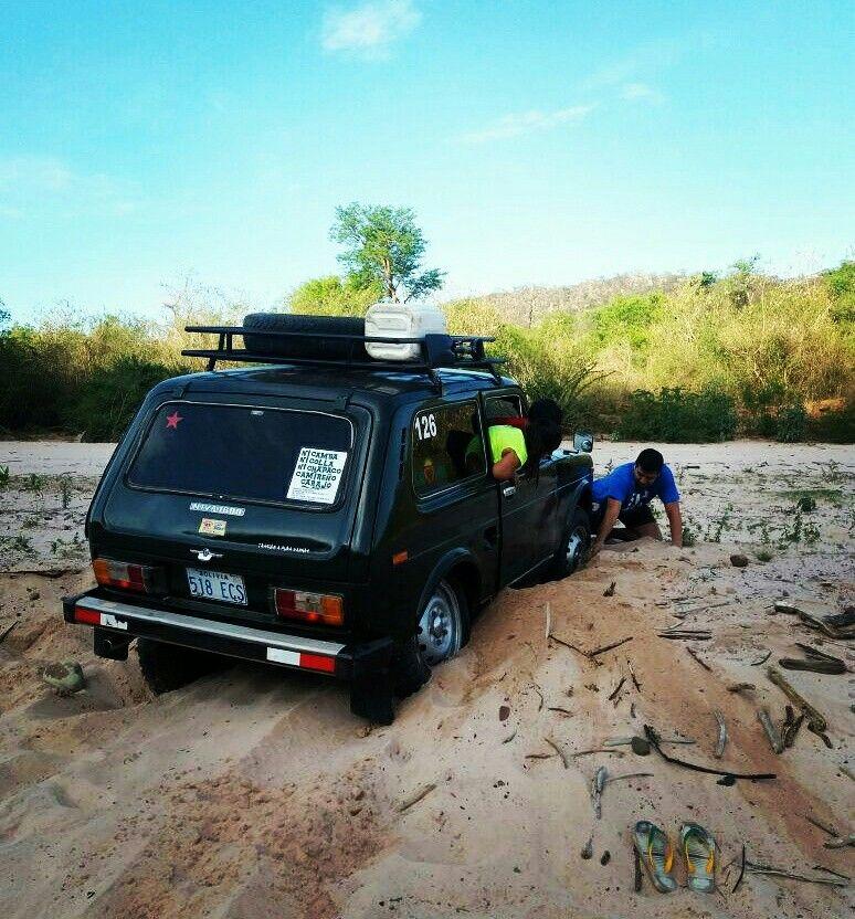 Areneando 4x4  Río Parapeti  Camiri -Bolivia