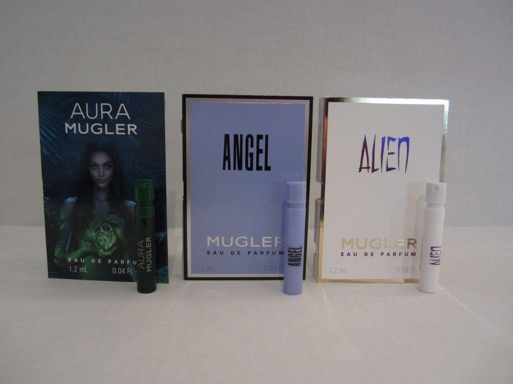 3 Thierry Mugler Alien Angel Aura Women S Edp 04oz X3 Sample