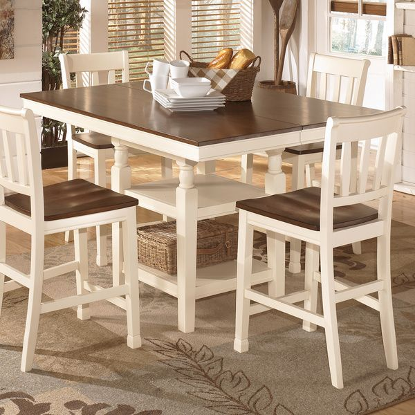 Dining Table Sets Deals: Signature Design By Ashley 'Whitesburg' Square Counter