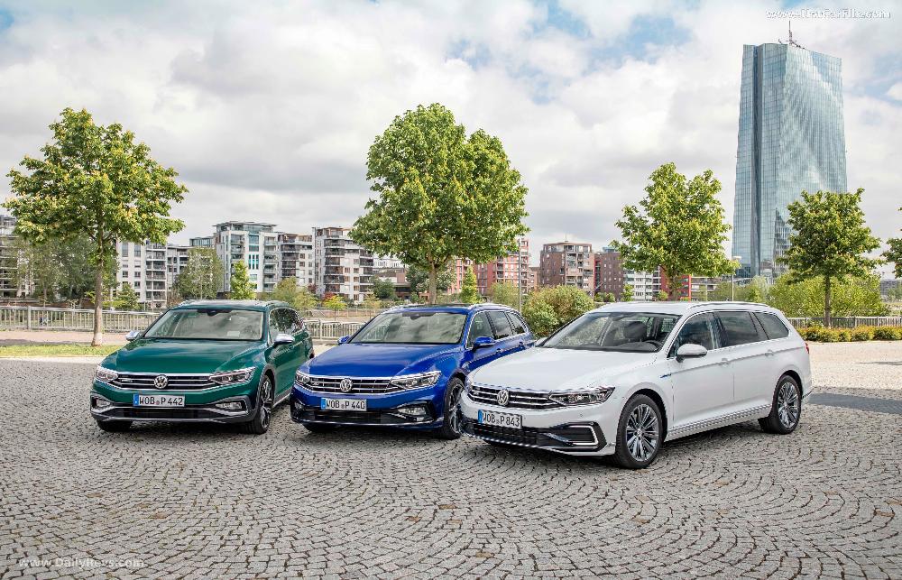 2020 Volkswagen Passat Gte Variant Dailyrevs Volkswagen Touring Hd Picture