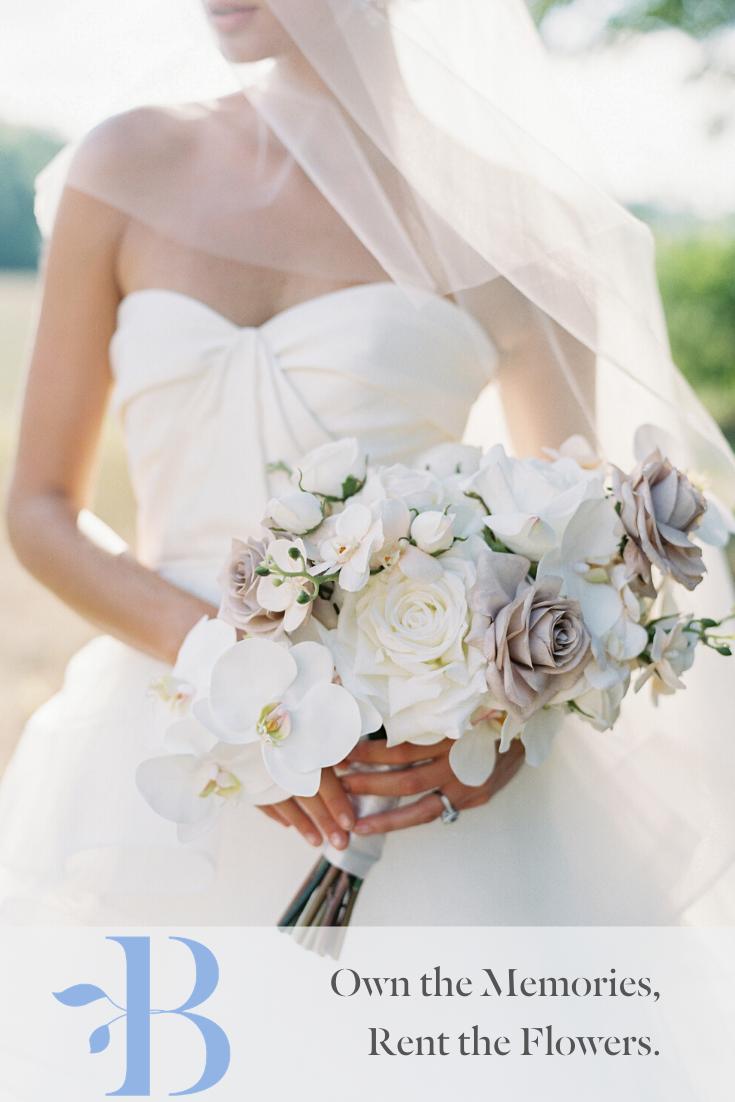 Classic White Bridal Bouquet White Bridal Bouquet Bridesmaid Bouquet White Bridesmaid Bouquet