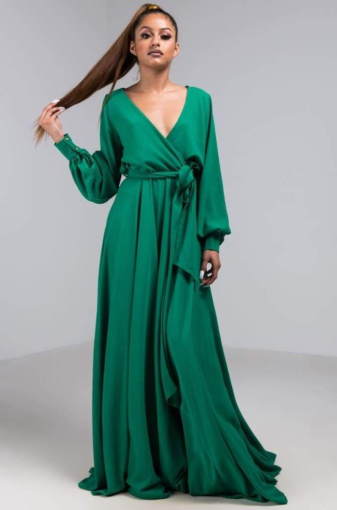 8d84448741 Jonna Long Sleeve Wrap Maxi Dress | Fall Restock | Products | Maxi ...