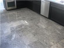 Silver Grey Marble Floor Tiles, Mexico Silver Grey Marble