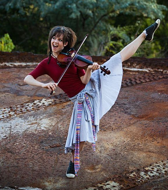 Lindsey Stirling<--- this girl has some wicked skills!