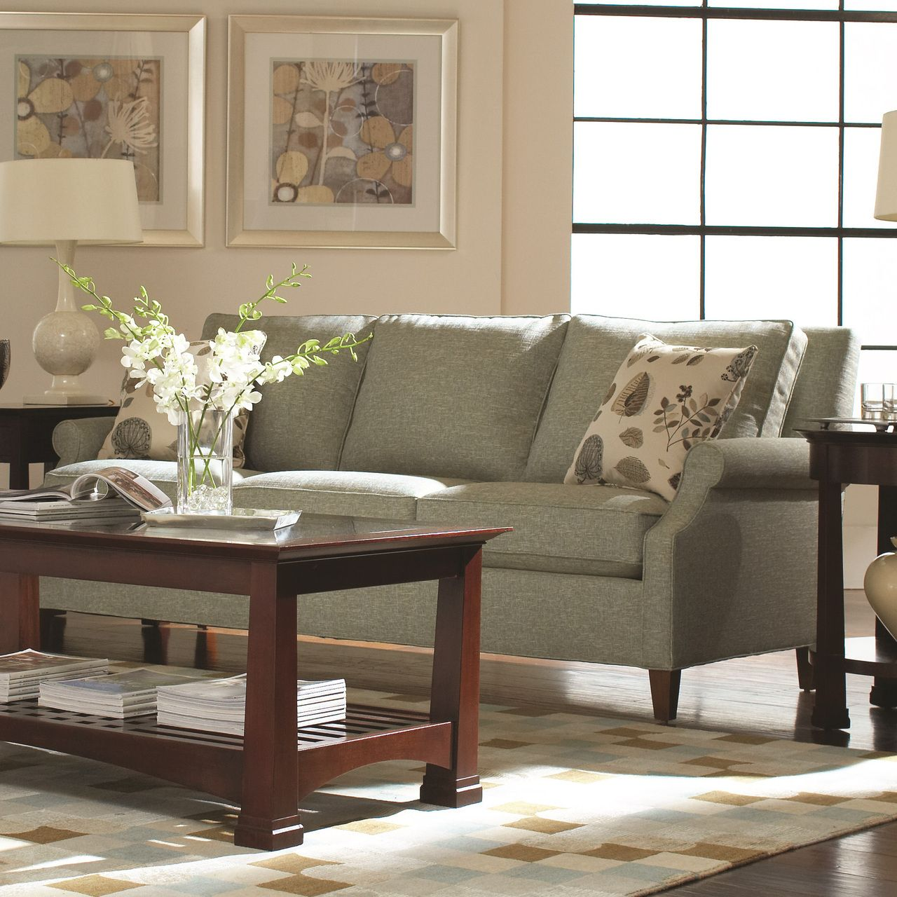 Natick Sofa | Stickley Fine Upholstery | Toms Price Furniture   Rugs    Design