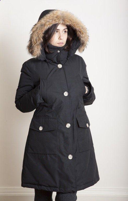 56f0f0bbf Woolrich WS Long Arctic Parka New Black - Coats