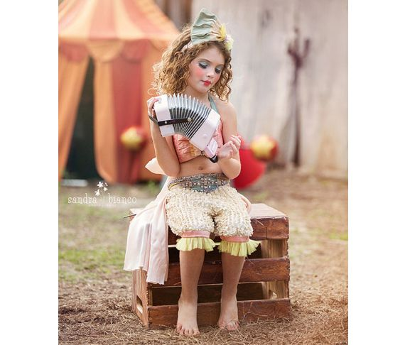 kids halloween costume ideas vintage circus performer 100 layer cakelet - Little Girls Halloween Costume Ideas