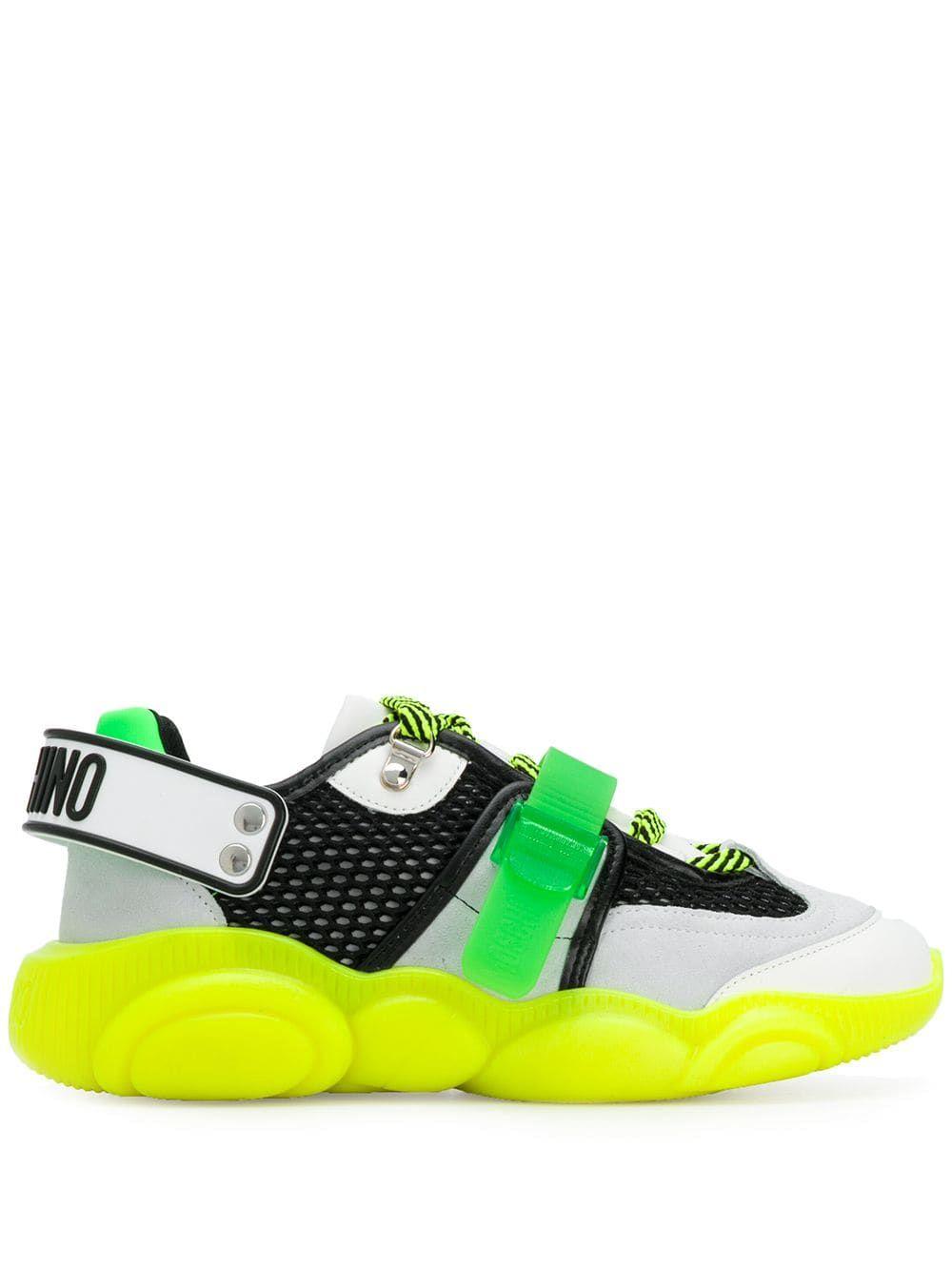 Moschino Teddy Sneakers - Farfetch