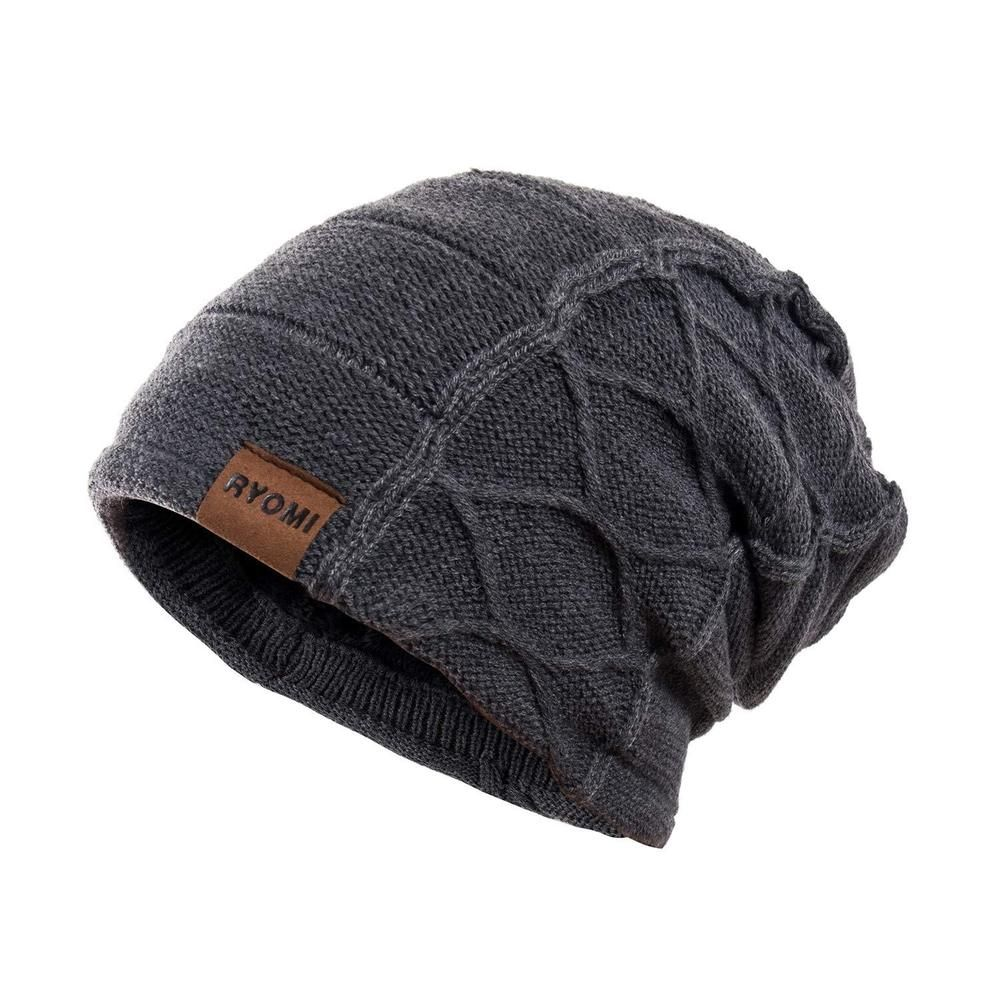 RYOMI Beanie Hat for Men and Women Fleece Lined Winter Warm Hats Knit  Slouchy...  fashion  clothing  shoes  accessories  mensaccessories  hats  (ebay link) 0b163ce12bad
