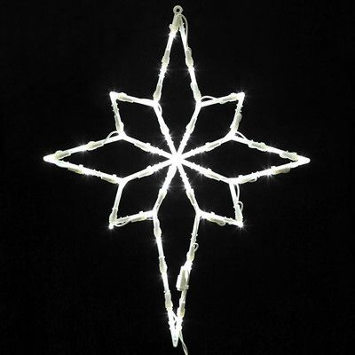 Northlight Lighted LED Star of Bethlehem Christmas Window Silhouette