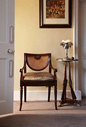 Regency Chair In Georgian Dining Room