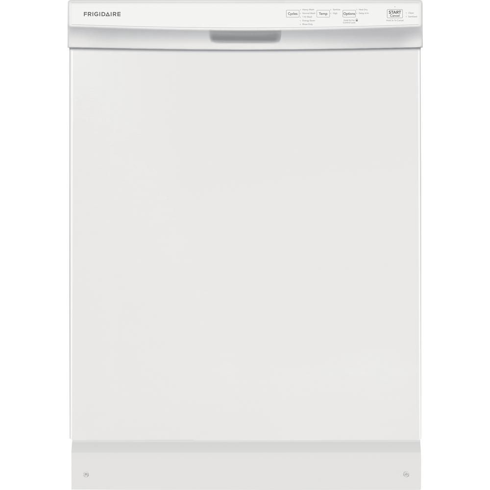 Frigidaire 24 In Built In Front Control Tall Tub Dishwasher In