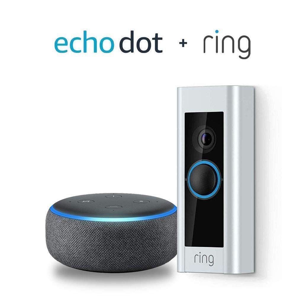 Prime members ring video doorbell pro echo dot 3rd gen